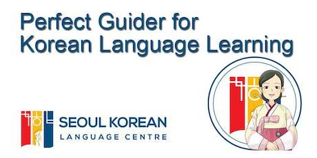 Opening Basic4 Korean Class tickets