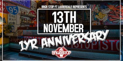 1 Year Anniversary Party @ BRGR Stop Ft. Lauderdale
