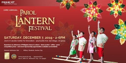 23rd Annual Parol Lantern Festival