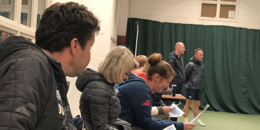 Middlesex Tennis Coach's Network LAUNCH