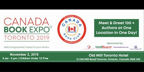 Canada Book Expo - Toronto 2019 tickets