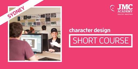 Character Design Short Course (JMC Sydney) tickets