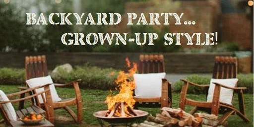 Parent Party: Fall Backyard Bash! (CANCELED)