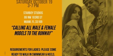 FIT 4 FASHION CASTING CALL tickets