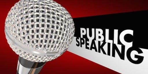 Public Speaking - Sample Toastmasters Meeting