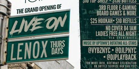 Live On Lenox tickets