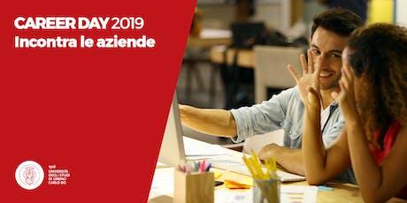 Career Day 2019 - Incontra le Aziende biglietti