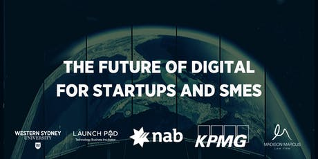 The Future of Digital for Startups and SMEs tickets