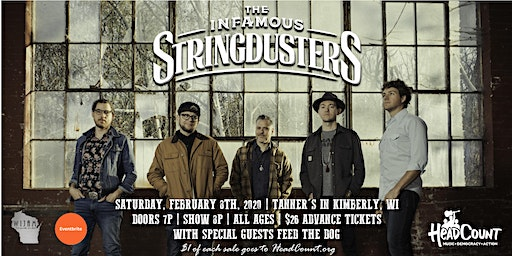 Infamous Stringdusters with Feed the Dog
