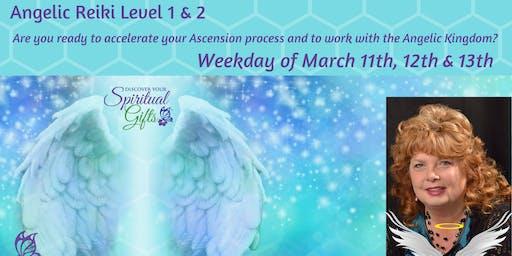 Angelic Reiki Level 1 & 2 (Weekday Class - 3 days)