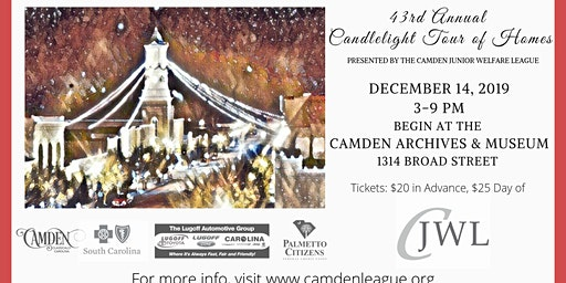 43rd Annual Candlelight Tour Of Homes