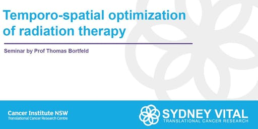 Temporo-spatial optimization of radiation therapy