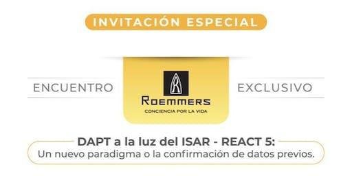 Simposio Roemmers - Dr David Antonucci (DAPT a la luz del ISAR - REACT 5)