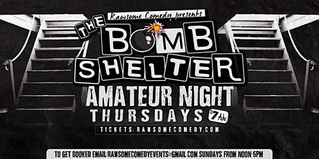 The Bomb Shelter Amateur Night tickets
