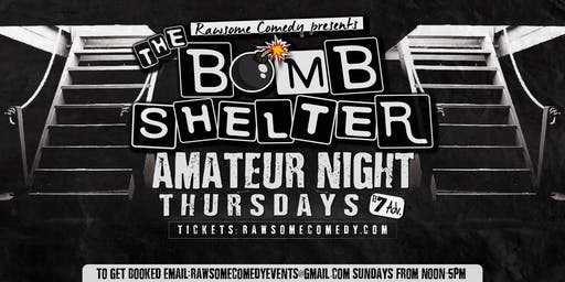 The Bomb Shelter Amateur Night