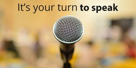 Intro to Public Speaking - January 2020 tickets