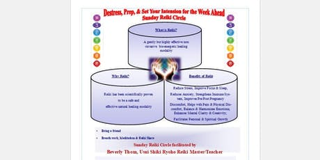 Sunday Reiki Circle tickets