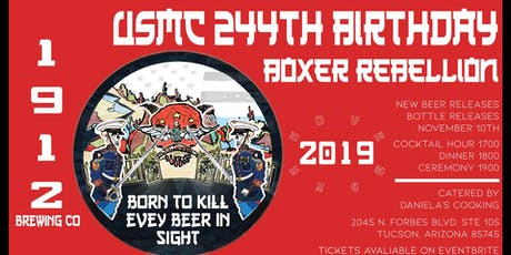 US Marine Corps 244th Birthday Celebration: Boxer Rebellion tickets