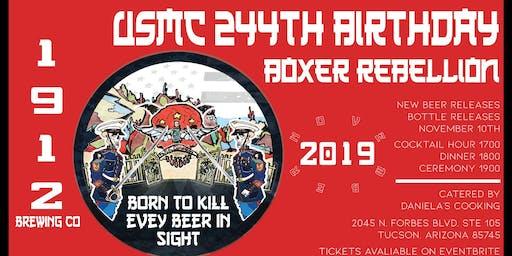 US Marine Corps 244th Birthday Celebration: Boxer Rebellion