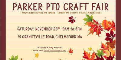 Parker PTO Craft Fair