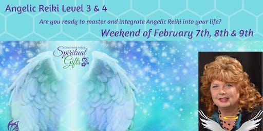 Angelic Reiki 3 & 4 (Weekend Class - 3 days)