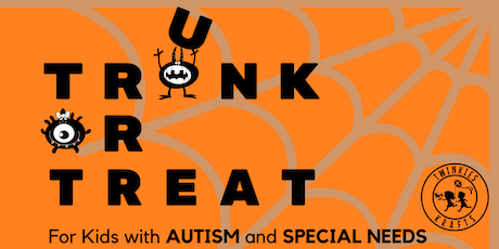 Halloween TRUNK or TREAT Event for Kids with Autism & Special Needs tickets