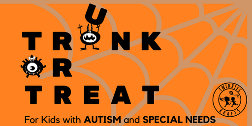 Halloween TRUNK or TREAT Event for Kids with Autism & Special Needs