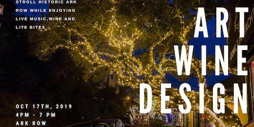 Art, Wine & Design on Ark Row