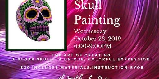 Sugar Skull Painting