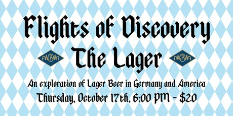 Flights of Discovery - The Lager tickets