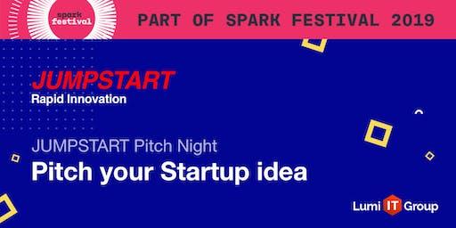 JUMPSTART x Spark Festival - Pitch your Startup idea