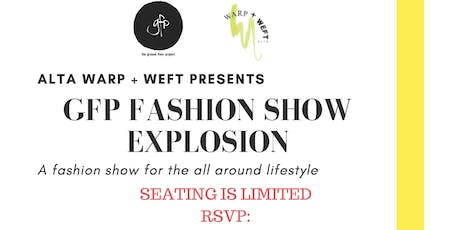 GFP FASHION SHOW EXPLOSION tickets