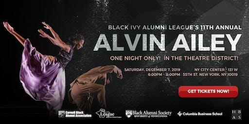 Black Ivy Alumni League Alvin Ailey 2019 Tickets & Private Reception