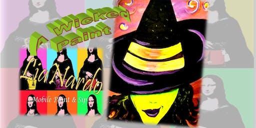 WICKED PAINT NIGHT  w/LiaNardo Mobile Paint & Sip in Corona, CA