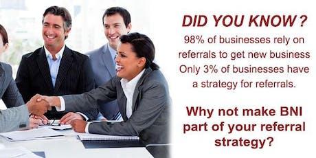 BNI Dynamic | Business Networking Mackay tickets