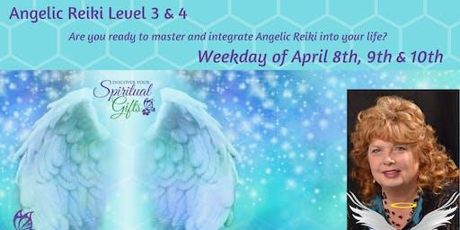 Angelic Reiki 3 & 4 (Weekday Class - 3 days)
