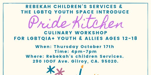 Pride Kitchen Culinary Workshop