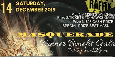 1st Annual Masquerade Dinner Dance Benefit Gala tickets