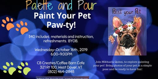 Paint Your Pet Paw-ty!