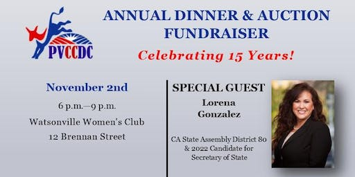 PVCCDC Annual Fundraiser & Auction 2019