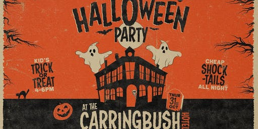 Halloween Party at The Carringbush