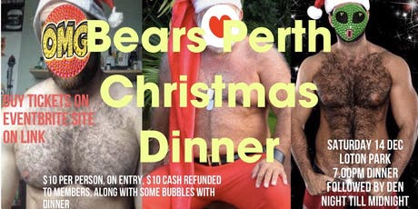 Bear Perth Christmas Dinner  (Saturday 14 December) tickets