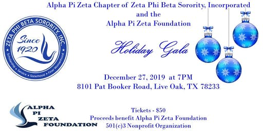 2019 Alpha Pi Zeta Chapter and Alpha Pi Zeta Foundation Holiday Gala