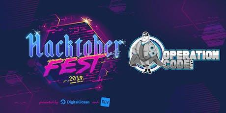 Operation Code Club Jr. HacktoberFest 2019 tickets