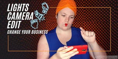 Lights, Camera, Edit (Video for Business Workshop) tickets
