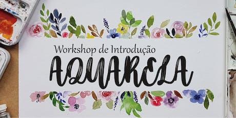 Workshop de Introdução a Aquarela! ingressos
