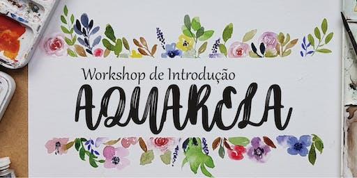 Workshop de Introdução a Aquarela!