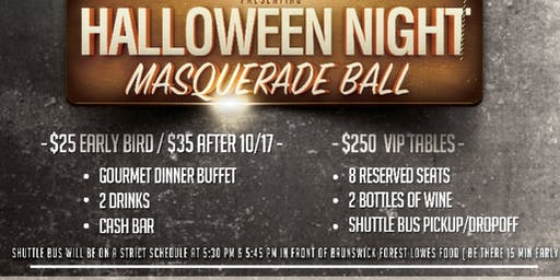 Halloween Night Masquerade Ball