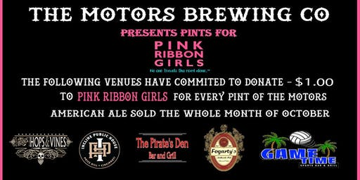Pints for Pink Ribbon Girls