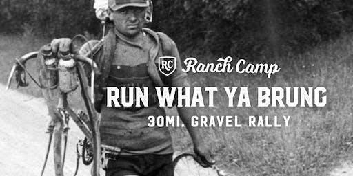 Run What Ya Brung Gravel Rally